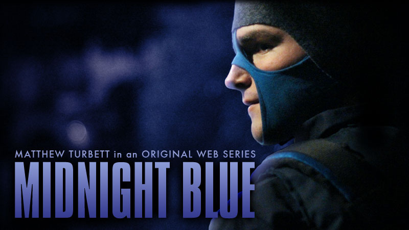 Midnight Blue Poster